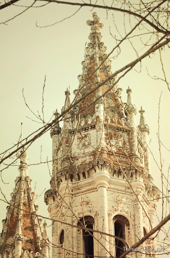 golden memory . jerónimos towers by terezadelpilar~ art & architecture