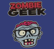 Zombie Geek by DetourShirts