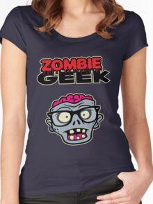 Zombie Geek Women's Fitted Scoop T-Shirt