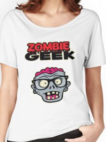 Zombie Geek Women's Relaxed Fit T-Shirt