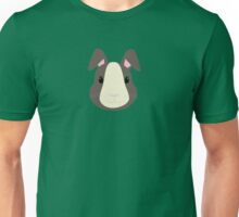 Grey rabbit Unisex T-Shirt