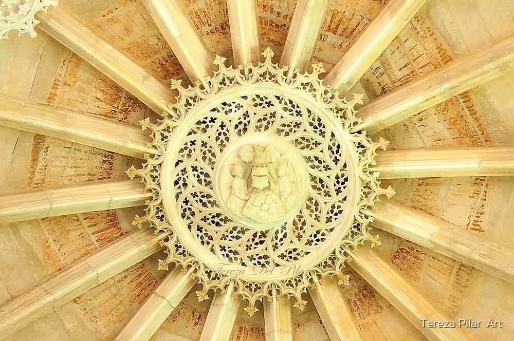 roseta . Capela do Fundador. Batalha by terezadelpilar~ art & architecture