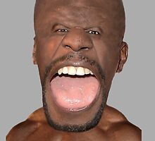 Terry Crews Caricature  by Ellie Bailey