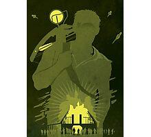 The Walking Dead Satirical Fan Art - Daryl Photographic Print