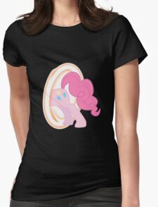 Pinkie Portal #2 Womens Fitted T-Shirt
