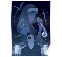 The Walking Dead Satirical Fan Art - Michonne Poster