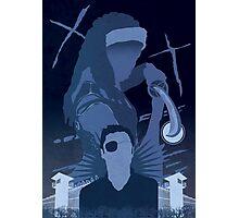 The Walking Dead Satirical Fan Art - Michonne Photographic Print