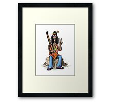 Hippie Framed Print
