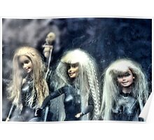 Three Barbies Poster