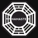 NAMASTE  - Dharma logo by jgdias94