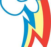 Rainbow Dash Cutie Mark by nlturk