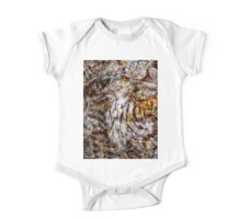 Designs Inspired By Nature: Eagle Owl One Piece - Short Sleeve