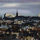 Watercolour Images of Edinburgh by Ross Macintyre