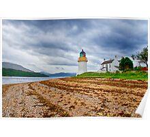 Corran Lighthouse Loch Linnhe Poster