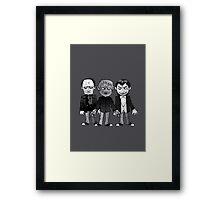 Classic Monsters Framed Print