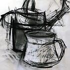 Abstraction Study - Watering Can 2009 by ArtnotJunk