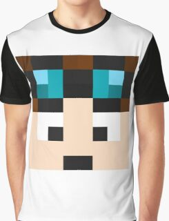 TheDiamondMinecart Minecraft skin Graphic T-Shirt