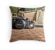My Camera Throw Pillow