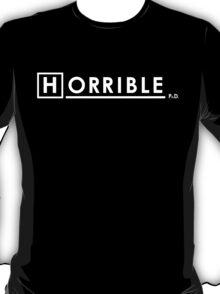 Dr Horrible x House Ph.D. T-Shirt