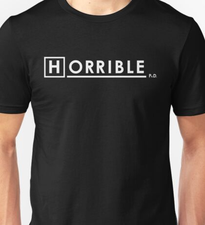 Dr Horrible x House Ph.D. Unisex T-Shirt