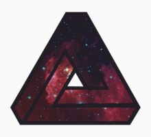 Infinite Triangle Galaxy  by Freak Clothing