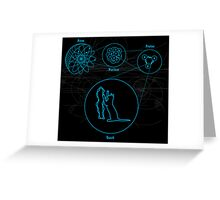 String Theory Greeting Card
