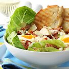 Chicken Caesar Salad by Franz Diegruber