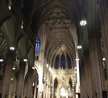 St. Patrick Cathedral by Nancy Badillo