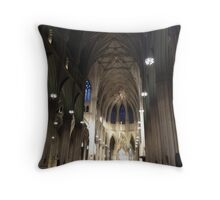 St. Patrick Cathedral Throw Pillow