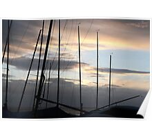 Through The Masts Poster