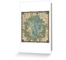lost island map Greeting Card