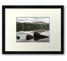 Lough Eske Reflections Framed Print