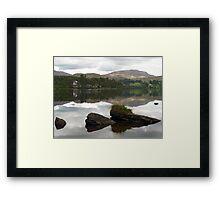 Lough Eske Reflections Framed Print