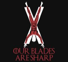Our Blades are Sharp by superedu