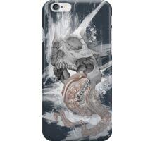 Skull Octopus Graphic tshirt -- Kraken Skull -- fitted Men Unisex t shirt iPhone Case/Skin