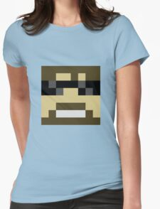 ssundee Minecraft skin Womens Fitted T-Shirt