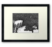 Dark Night Inner Light Framed Print