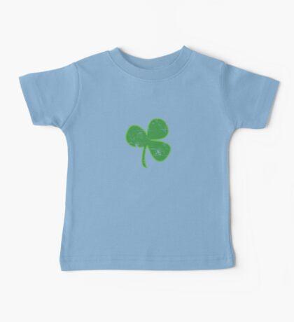 Vintage Clover St Patricks Day Baby Tee