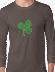 Vintage Clover St Patricks Day Long Sleeve T-Shirt