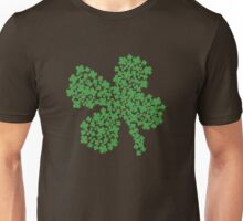 Clover Made Of Clovers St Patricks Day Unisex T-Shirt