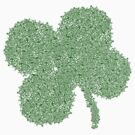 Clover Skulls St Patricks Day by CarbonClothing