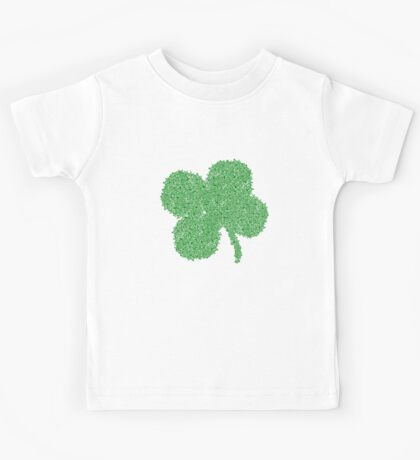 Clover Skulls St Patricks Day Kids Tee