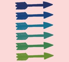Cool colored arrows Kids Clothes