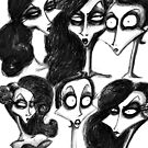 Alyssa&#x27;s Faces by Hannah Chusid