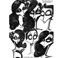 Alyssa's Faces Photographic Print