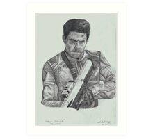Tom Cruise in Oblivion Art Print