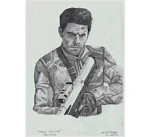 Tom Cruise in Oblivion Photographic Print