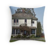 Just Another Day in Our Backyard - #3 in Series Throw Pillow
