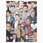 rdj collage by cocosuspenders