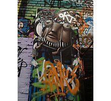 graffitti character Photographic Print